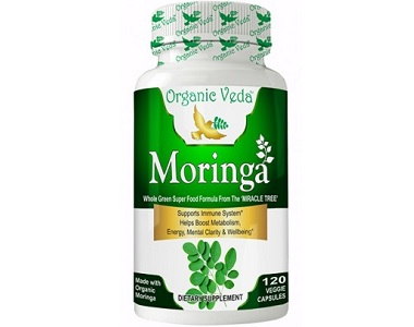 Organic Veda Moringa Review - For Health & Well-Being
