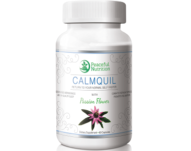 Peaceful Nutrition CALMQUIL for Anxiety Relief