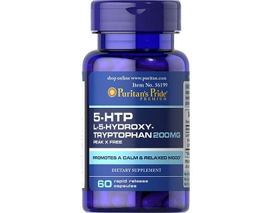 Puritan's Pride 5-HTP Review - For Relief From Anxiety And Tension