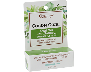 Quantum Health Canker Care+ Review - For Relief From Canker Sores
