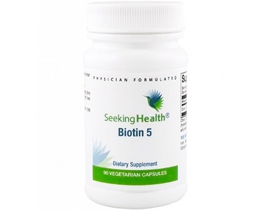 Seeking Health Biotin 5 Review - For Hair Loss, Brittle Nails and Unhealthy Skin