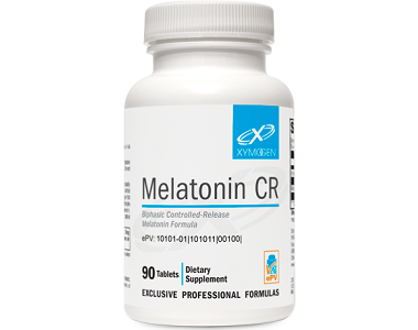 Xymogen Melatonin CR for Jet Lag