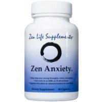 Zen Life Supplements Zen Anxiety