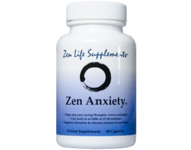 Zen Life Supplements Zen Anxiety for Anxiety Relief