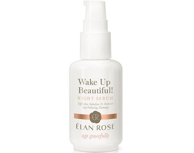 Élan Rose Wake-Up Beautiful! Night Serum Review - for Anti-Aging