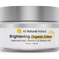 All Natural Advice Brightening Organic Cream