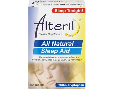 Alteril All Natural Sleep Aid Review - For Restlessness and Insomnia