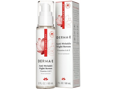 DERMA E Anti-Wrinkle Night Serum Review - for Anti-Aging