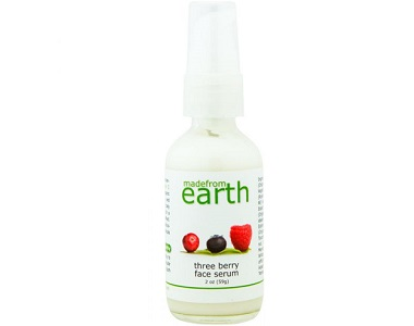 Made From Earth Three Berry Face Serum Review - Anti Aging Serum