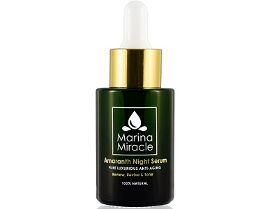 Marina Miracle Amaranth Night Serum Review - for Anti-Aging