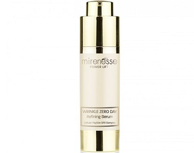 Mirenesse Power Lift Wrinkle Zero Day Refining Serum Review - For Youthful Looking Skin