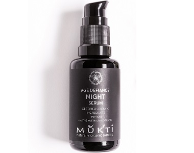 Mukti Organics Age Defiance Night Serum Review - for Anti-Aging