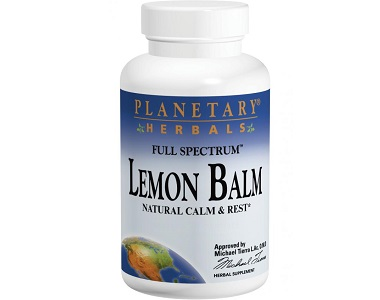 Planetary Herbals Lemon Balm Full Spectrum for Insomnia