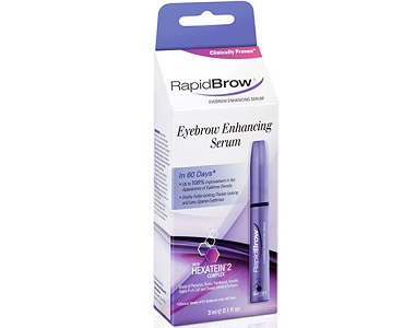 RapidBrow Eyebrow Enhancing Serum Review - For Fuller and Thicker Looking Lashes and Brows