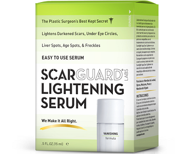 Scarguard Lightening Serum Review - For the removal of scars and dark marks
