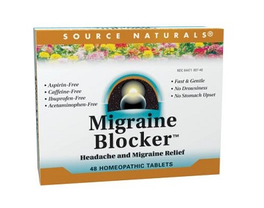 Source Naturals Migraine Blocker for Migraine Relief