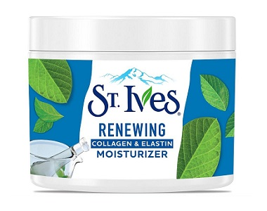 St. Ives Renewing Collagen Elastin Moisturizer Review - For Aging Skin