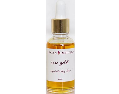 Argan Republic Rose Gold Exquisite Day Elixir Review - Anti Aging Day Serum