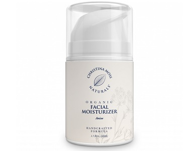 Christina Moss Naturals Organic Facial Moisturizer Review - For Hydrating The Skin