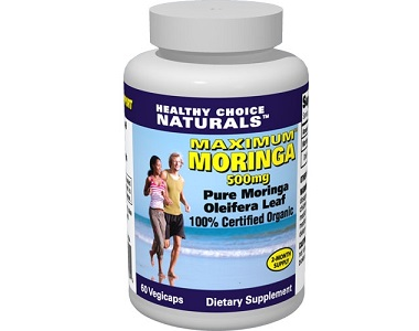 Healthy Choice Naturals Maximum Moringa for Health & Well-Being