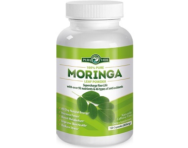 Pure Vida Organic Moringa for Health & Well-Being